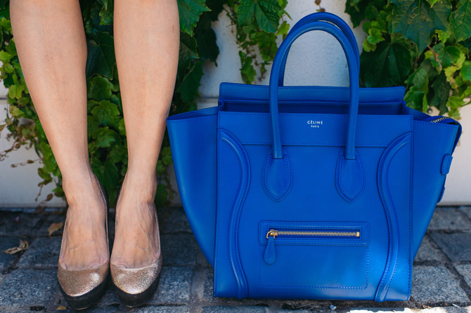 Jimmy Choo shoes and Celine Bag