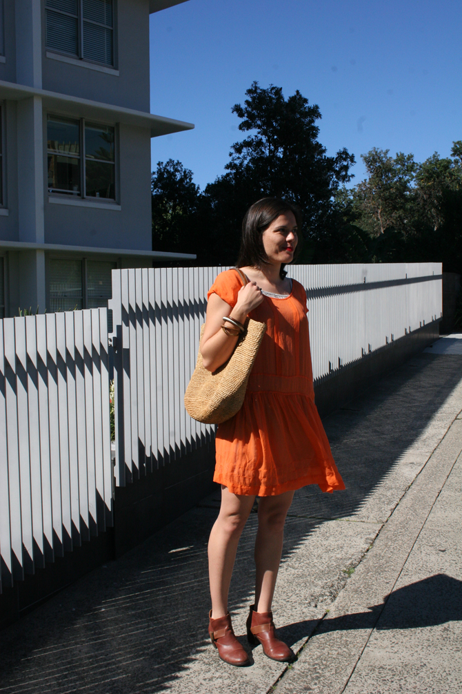 Fabulous Orange Dress