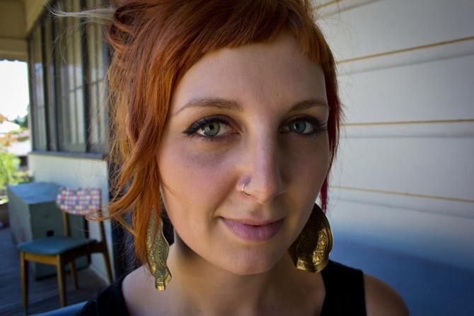 NIna Grodahl close up