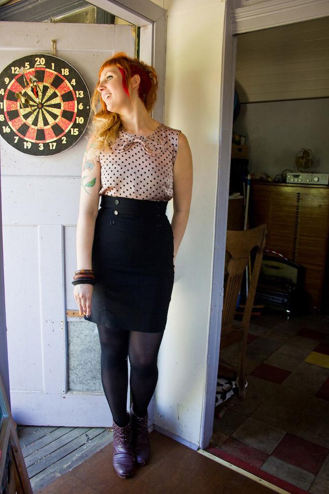 Spotty dress by dangerfield