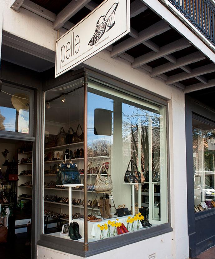 Pelle Shop story