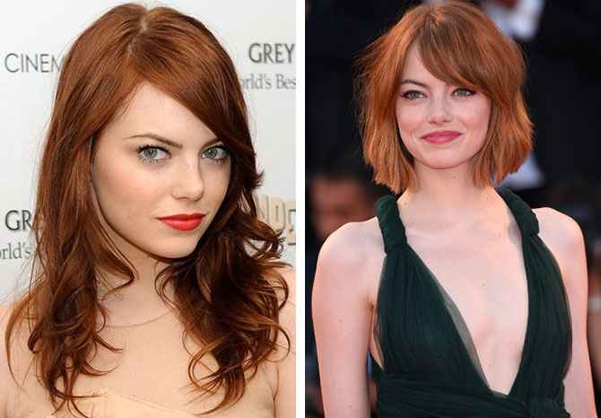 Celebrity Hair Transformations For Spring