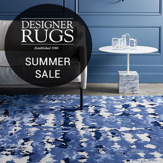 DESIGNER RUGS BIGGEST EVER SUMMER SALE