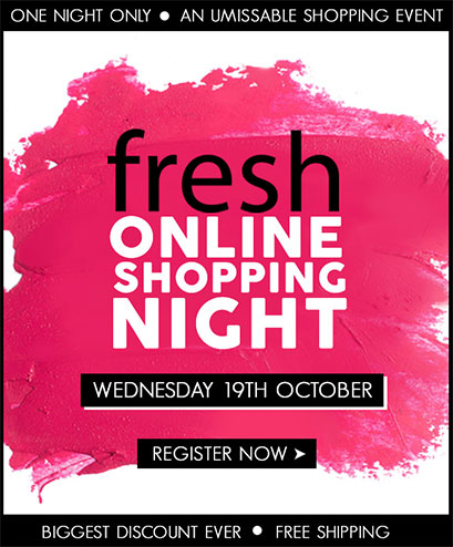 Fresh Online Shopping Night