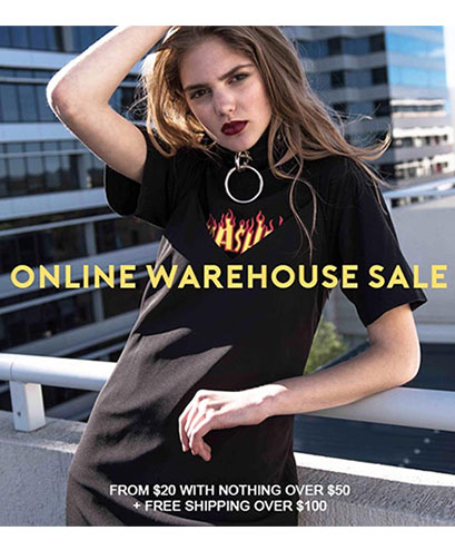 August Street - Online Warehouse Sale