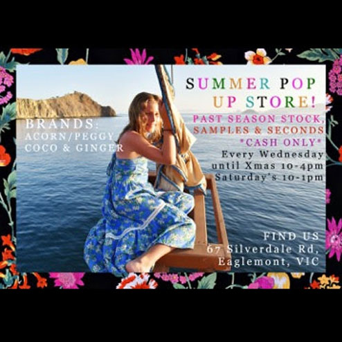 Kidswear Summer Pop Up Sale