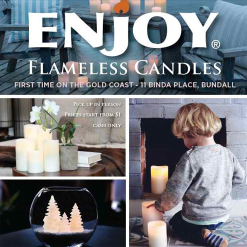 Enjoy Lighting Flameless Candles Warehouse Sale