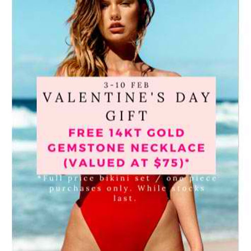 Free Gift With Liberté Swimwear Purchase