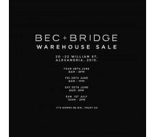 Bec & Bridge Sydney Warehouse Sale - Clothing - Fashion