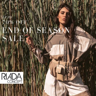 RIADA CONCEPT END OF SEASON INTERNATIONAL DESIGNER SALE