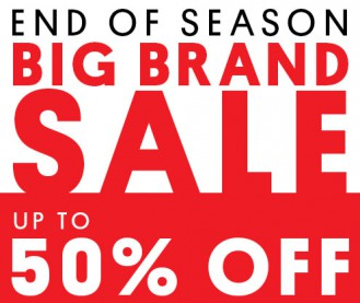 Glue Store End of Season Apparel Sale