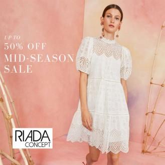 Riada Concept. International Designer - Mid-Season Sale