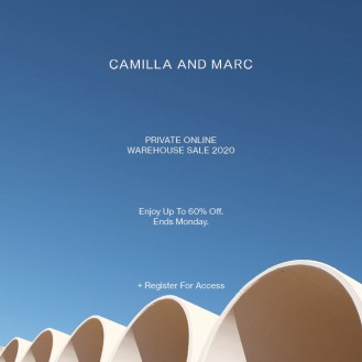 CAMILLA AND MARC Private Online Warehouse Sale 2020