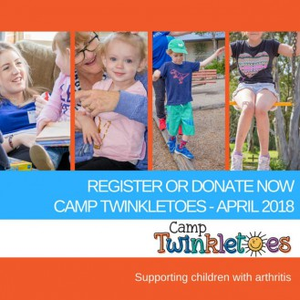 Donate Now or Register for Camp Twinkletoes