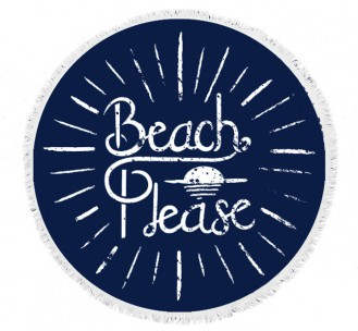 Round Beach Towel 50% Off Sale