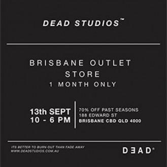 Dead Studios Brisbane Outlet Store Sale