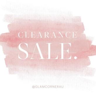 GLAMCORNER Clearance Sale