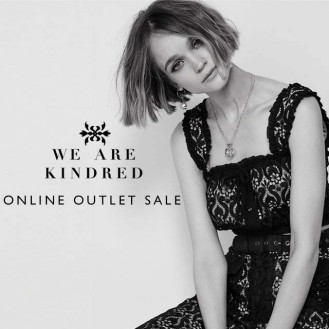 The We Are Kindred Online Outlet Sale continues.
