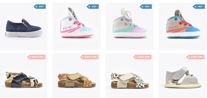 Romper Stomper Baby/ Toddler Shoe Sale