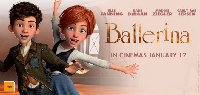 WIN a double pass to Ballerina