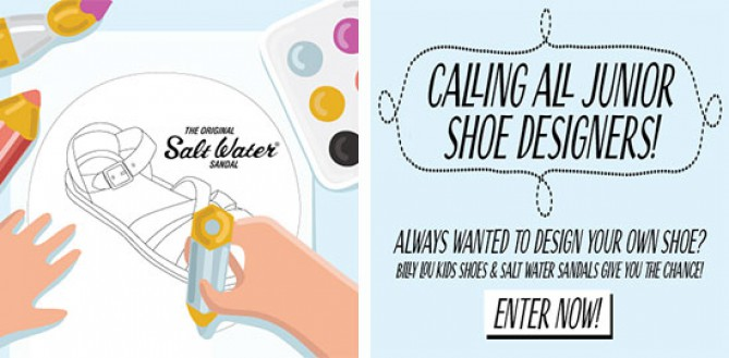 Win a Pair of your Salt Water Sandals