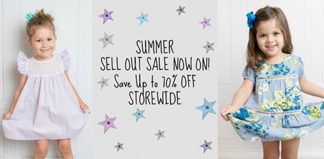 Daisy and Moose Summer Sell Out Sale