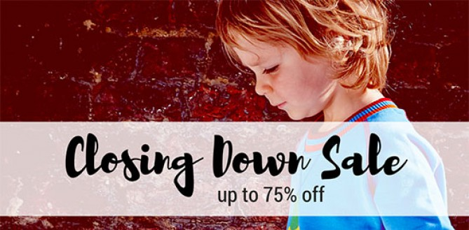 Small To Tall Closing Down Sale