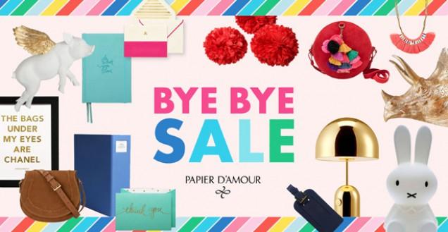 Papier d'Amour's Massive Bye Bye Sale