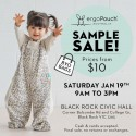 ergoPouch Melbourne Sample Sale