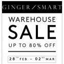 Ginger and Smart Warehouse Sale