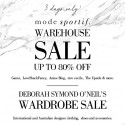 Mode Sportif Sydney Warehouse Sale