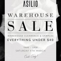 ASILIO Warehouse Sale
