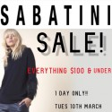 Sabatini Everything $100 and Under Sale