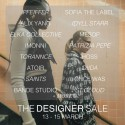 The Designer Sale | Save The Date