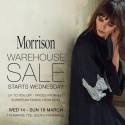 MORRISON Warehouse Sale Fremantle Sth
