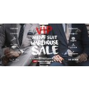 Mens Suit Warehouse Sale Special VIP Night