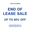 LIFEwithBIRD End of Lease Sale