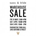 sass & bide Sydney Warehouse Sale