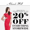 Alannah Hill Sale 20% off Storewide