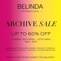 Belinda International Archive Sale