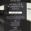 Designer Warehouse Sale Melbourne