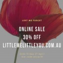 Little Me Little You Anzac Day Sale