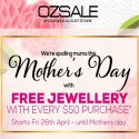 OZSALE Outlet Store Mother's Day Bargains