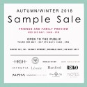 International Brands Aw18 Sample Sale