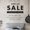 Aura Home Pop Up Warehouse Sale