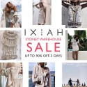 IXIAH's Largest Warehouse SALE