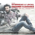 Massive Overseas Designer Clearance Sale up to 90% Off