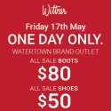 Wittner Warehouse sale in Watertown Perth
