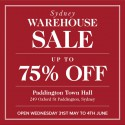 M.J. Bale + Ginger & Smart Warehouse & Sample Sale