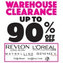 Warehouse Clearance Big Brand Cosmetics Sale